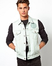 Esprit Sleeveless Denim Jacket