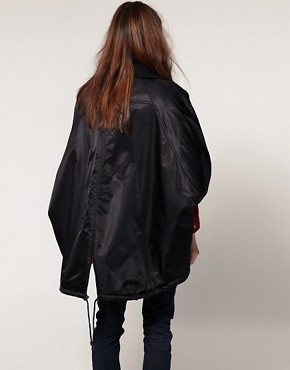 Image 2 ofASOS Airforce Cape