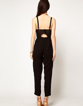 Image 2 ofASOS Jumpsuit with Jewel Embellishment