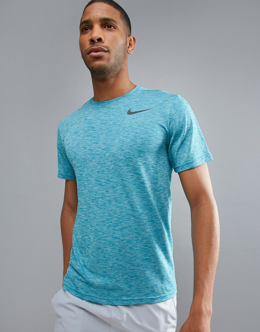 Nike Training Pro HyperDry T-Shirt In Blue 832835-411 - Blue