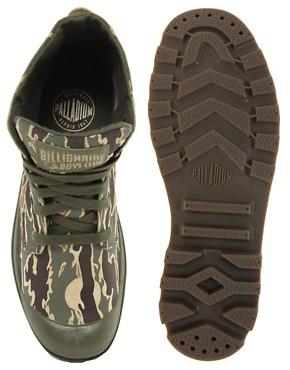 Image 3 ofBillionaire Boys Club for Palladium Pampa Hi Leather Camo Boots