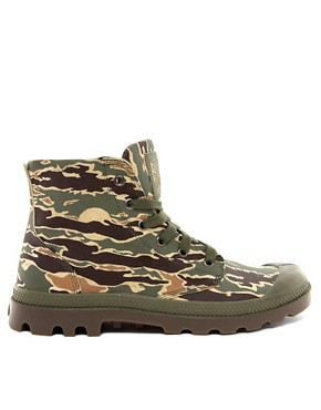 Image 4 ofBillionaire Boys Club for Palladium Pampa Hi Leather Camo Boots