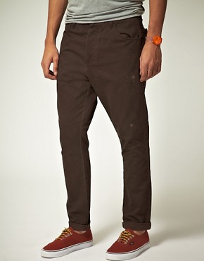 Image 1 ofASOS Tapered Worker Chino