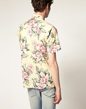 Image 2 ofKarmakula Bali Cream Hawaiian Shirt