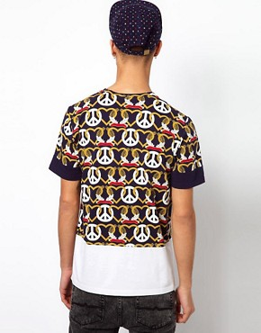 Image 2 of Kidda Christopher Shannon T-Shirt with Crest Print