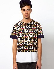 Kidda Christopher Shannon T-Shirt with Crest Print