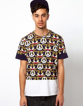 Image 1 of Kidda Christopher Shannon T-Shirt with Crest Print