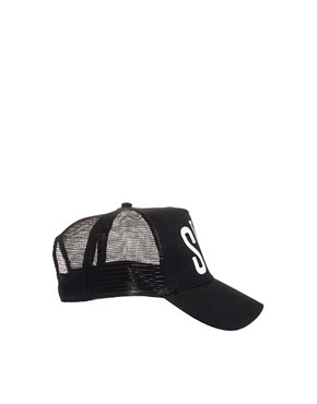 Image 4 ofSick Girl Black Snapback Cap