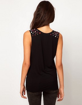 Image 2 of Glamorous Top with Gem Embellishment