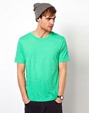 Camiseta bsica en color verde de River Island