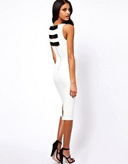 ASOS Pencil Dress With Bow Back Detail