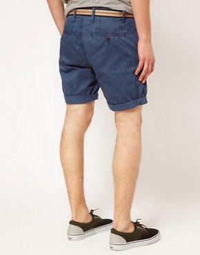 Image 2 ofSolid Belted Chino Short