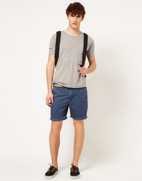 Image 4 ofSolid Belted Chino Short