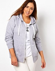 Sudadera con capucha y cremallera de New Look Inspire