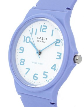 Image 3 ofCasio Watch MQ-24CC-6BEF with Blue Analogue Dial and Blue Resin Strap