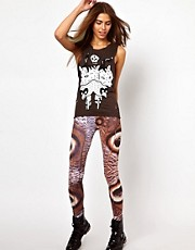 Your Eyes Lie Digital Eyes Leggings