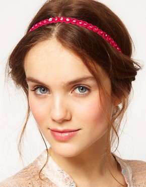 Image 1 ofDeepa Gurnani Disc Mirror Headband