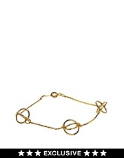 Susan Caplan Exclusive For ASOS Vintage &#39;80s Wire Ball Bracelet