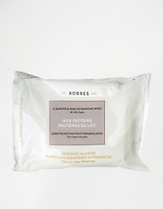Korres Milk Proteins Cleansing &amp; Make-Up Remover Wipes