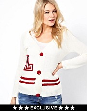 Love Varsity Cardigan