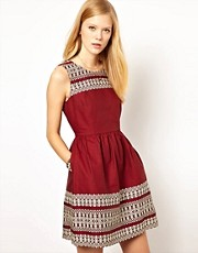 NW3 Christine Embroidered Dress