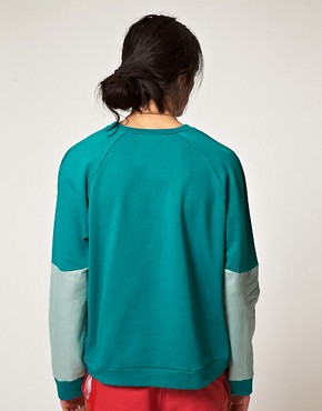 Image 2 ofForgotten Future Raglan Sleeve Sweatshirt