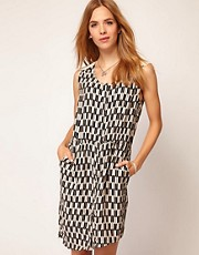 Selected Bianca Print Dress