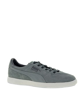 Image 1 ofPuma Dallas Suede Trainers