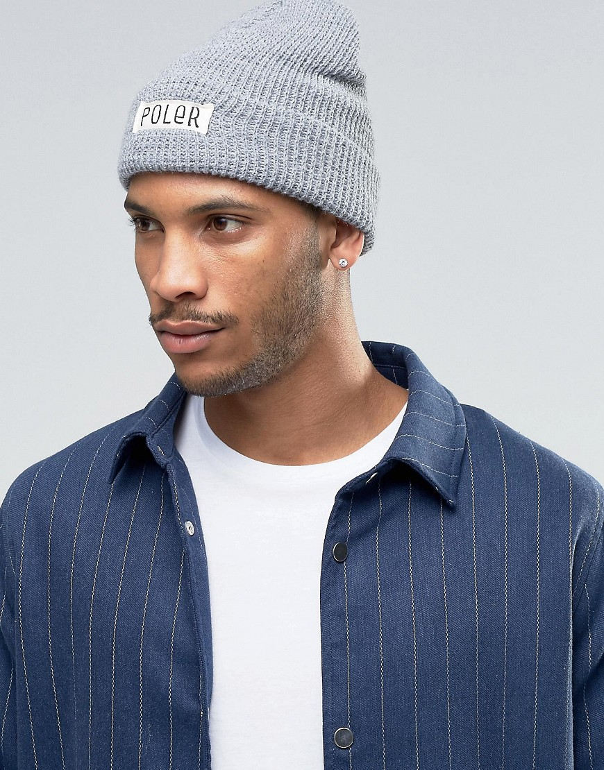 poler-beanie-workerman-grey