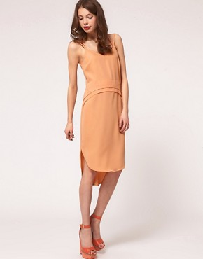 Image 4 ofASOS Slip Dress with Cross Back