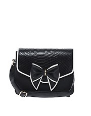 New Look Gertie Bow Cross Body Bag