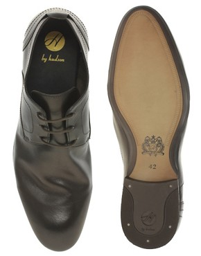 Image 3 ofH By Hudson Eisbar Leather Derby Shoe