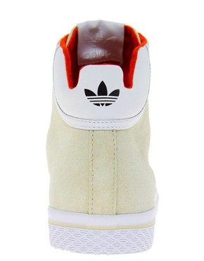 Image 2 of Adidas Originals Vulc Star High Top Trainers