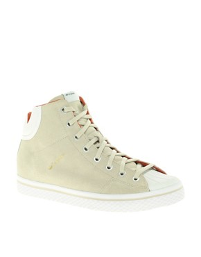 Image 1 ofAdidas Originals Vulc Star High Top Trainers