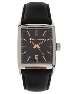 Image 1 ofBen Sherman Leather Watch