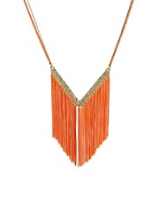 Oasis Diamante Tassel Necklace