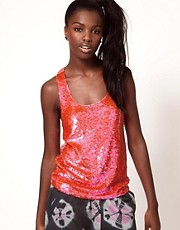 Ashish Disco Sequinned Vest