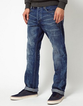 Image 2 ofJack &amp; Jones Rick Straight Jeans