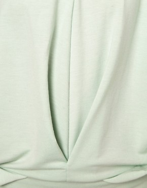 Image 3 ofSelected Sweat Dress with Pleat Detail