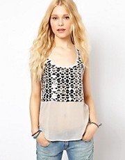 River Island Mirror Vest