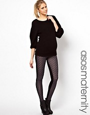 Esclusiva ASOS Maternity - Leggings con stampa geometrica