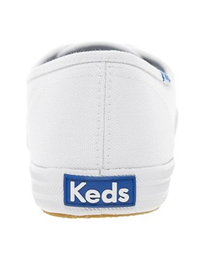 Image 4 ofKeds Classic White Plimsolls