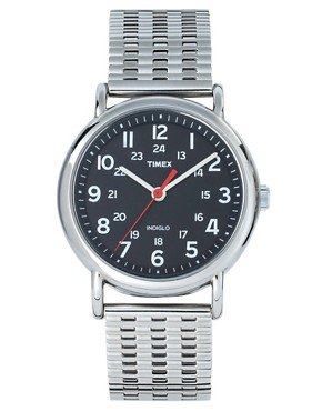 Image 1 ofTimex Weekender Stainless Steel Watch