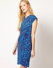 See By Chloe Blossom Print Wrap Over Dress