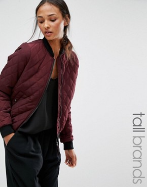 Vero Moda Tall Quilted Bomber Jacket