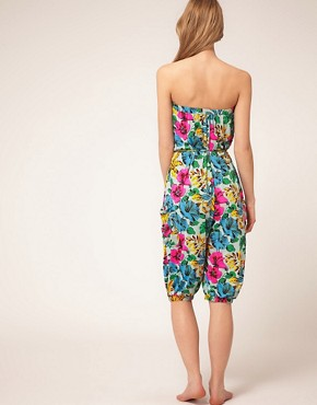 Image 2 ofMarc By Marc Jacobs Havana Floral Playsuit