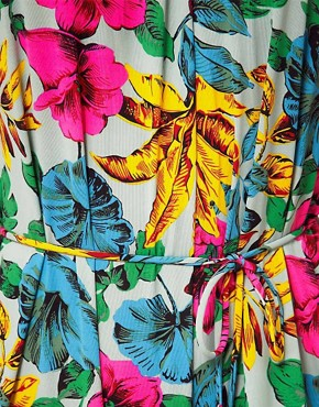 Image 3 ofMarc By Marc Jacobs Havana Floral Playsuit