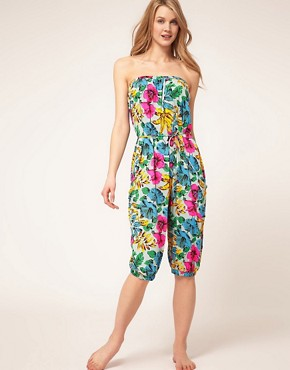 Image 4 ofMarc By Marc Jacobs Havana Floral Playsuit
