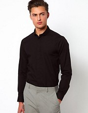ASOS Smart Shirt With Curve Collar