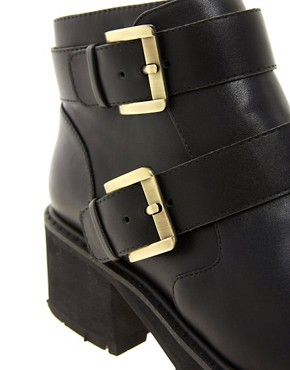 Image 2 ofASOS AMBITION Biker Boots